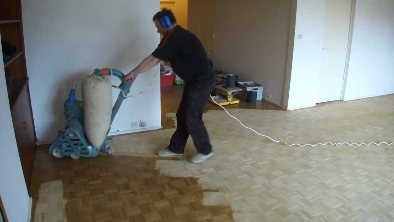 R novation de parquets youtube for Parquet renovation