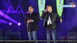Nang gi napao | 🎤 Ranbir Thouna & Arbin Soibam with SINTHA Band | Manipur Sangai Festival