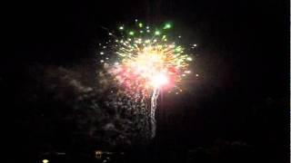 SM City Iloilo Fireworks Display 123011