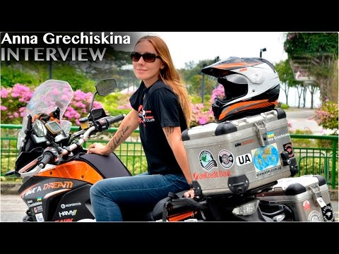 Anna Grechiskina -  Motorcycle Touring Around The World - ihaveadreamrtw.com