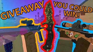 (Closed) 500 Subscriber Wetland Huntsman Knife Giveaway + More! (Counter Blox - Roblox CSGO)