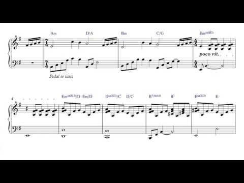 Genesis - Mad Man Moon - Piano Sheet Music + PDF