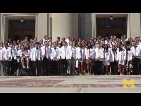 University of Michigan Medical School White Coat Ceremony 2015