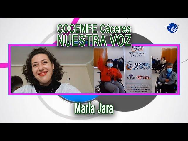 COCEMFE Nuestra Voz - María Jara