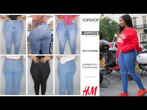 BEST JEANS FOR CURVY / THICK WOMEN. http://bit.ly/2WCYBow