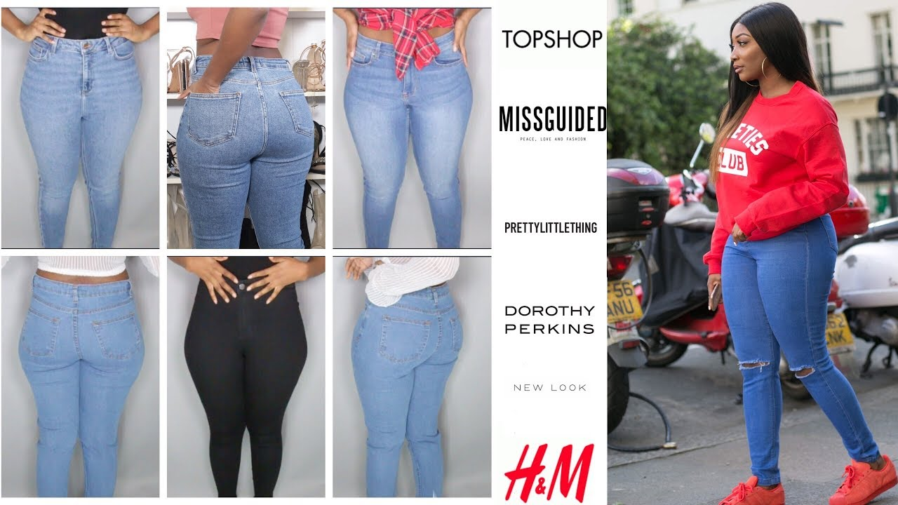 Best Jeans For Curvy Thick Women Youtube