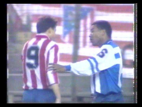 1992/93.- Atlético Madrid 2 Vs. RC Deportivo La Coruña 1 (Liga - Jª 11)