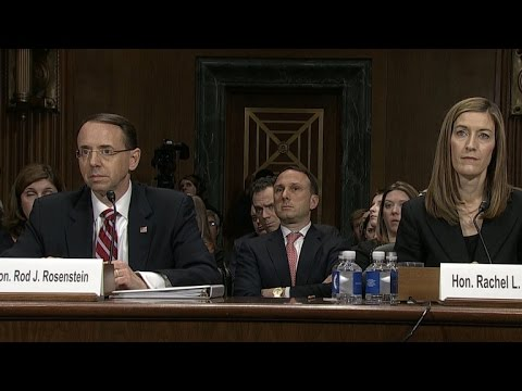Deputy AG nominee grilled by Senate Judiciary Committee