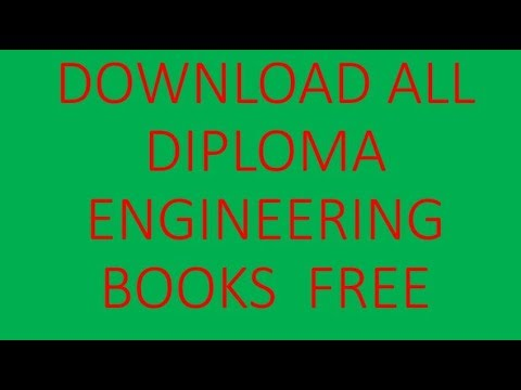 How To Download All Diploma Engineering Books Free In Bangladesh