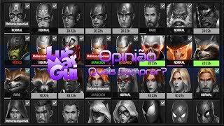 Marvel Future Fight - Quais Uniformes comprar?