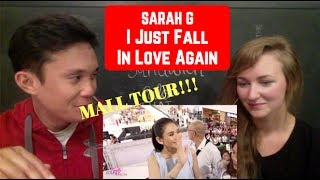 Sarah Geronimo performs 'I Just Fall In Love Again' Mall Tour REACTION