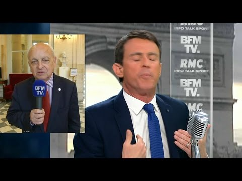 """Valls soutient Macron: """"Les frondeurs récoltent ce qu'ils ont semé"""", estime François Loncle"""
