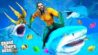 AQUAMAN Prišiel do Los Santos - GTA 5 AQUAMAN MOD