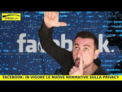 Facebook e la nuova normativa europea sulla Privacy (Gdpr)