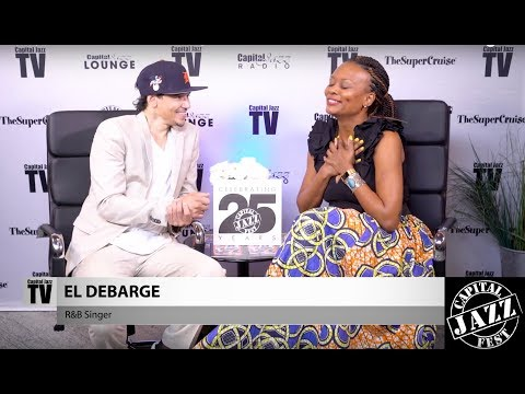 Interview with El DeBarge - 2017 Capital Jazz Fest