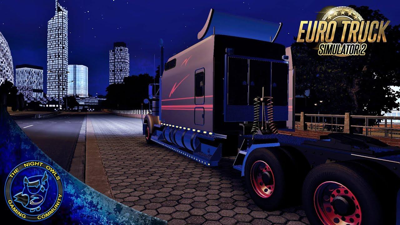 Euro truck simulator 2 v1 19s 1 20s kenworth w900 long review update