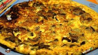 354 - Frittata di fegatini...ne farei fori a cestini! (antipasto/secondo facile con carne e uova)