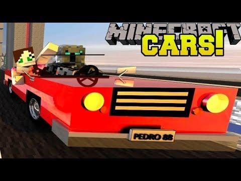 Minecraft: MINI CARS!!! (LITTLE CARS, RACING, & TRICKS!) Mod Showcase thumbnail