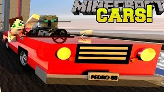 Minecraft: MINI CARS!!! (LITTLE CARS, RACING, & TRICKS!) Mod Showcase