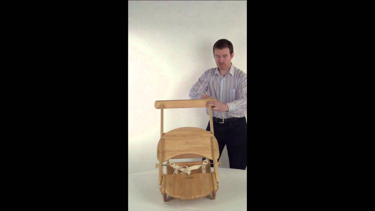 East Coast folding high chair assembly instructions