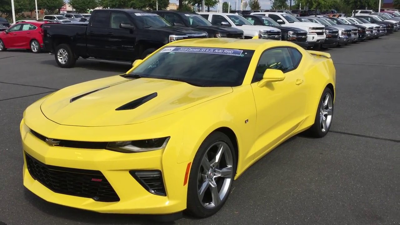 2018 Chevrolet Camaro 2SS - (803) 366-9414 - Burns Chevy ...