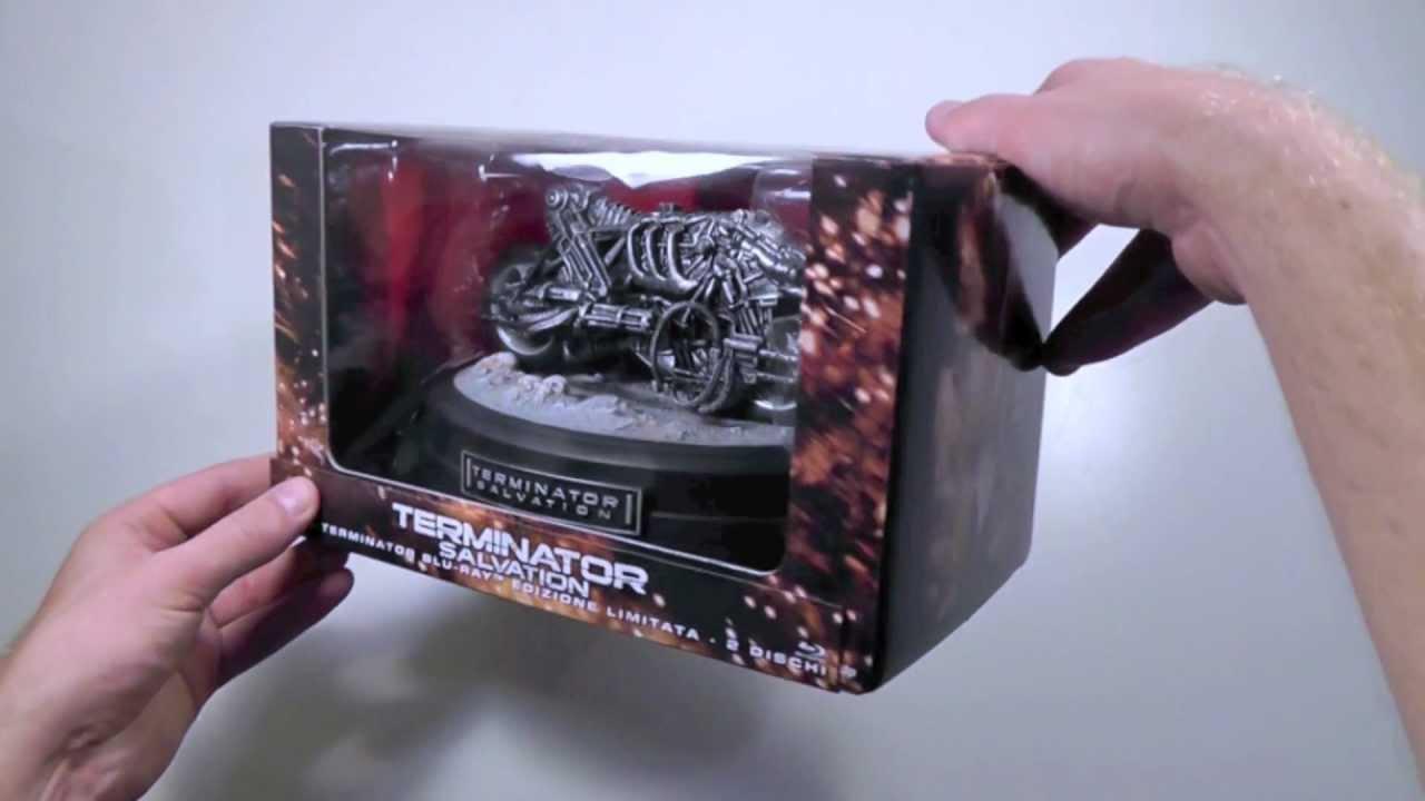 Download Terminator Salvation   Limited Edition Moto-Terminator Box Set (Blu-ray + DVD, Italy)