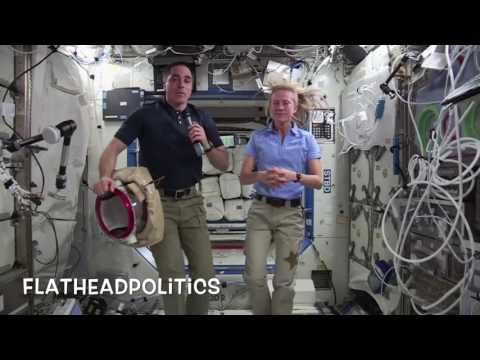 Flat Earth - NASA ISS CGI - More Augmented Reality Glitchery!