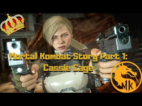 Mortal Kombat 11 Story Part 1: Cassie Cage
