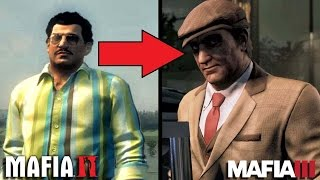 Mafia 2 VS Mafia 3 - ДЖО БАРБАРО В РУБРИКЕ 'ДО и ПОСЛЕ' [Как изменился ДЖО?]