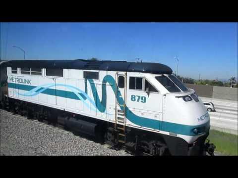 3/13-14/17 Trains during the CSULA-El Monte Metrolink Commute