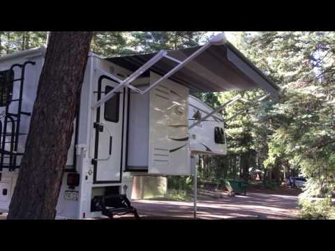 2017 Eagle Cap 1165 Truck Camper Walkthrough
