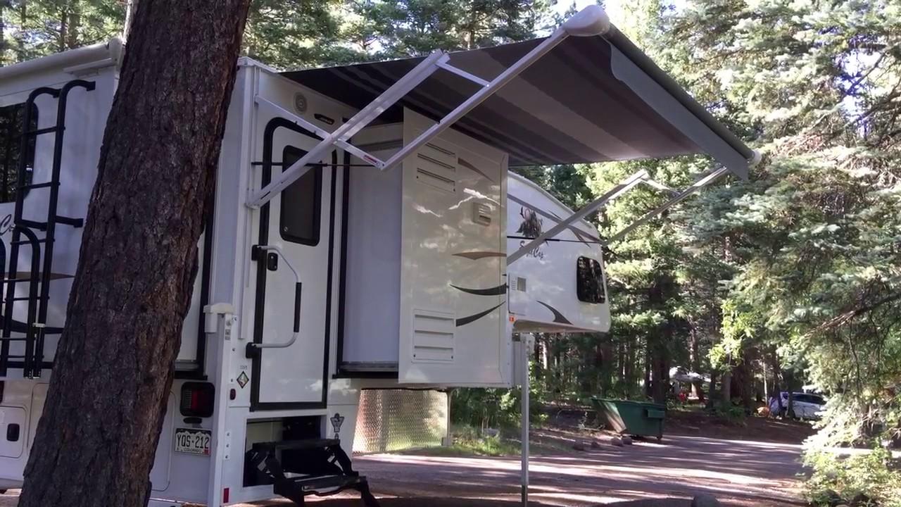 2017 Eagle Cap 1165 Truck Camper Walkthrough Youtube