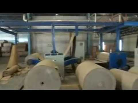 Js 2000mm 5 Ply Automatic Corrugated Board Making Line By Natraj Corrugating Machinery Co