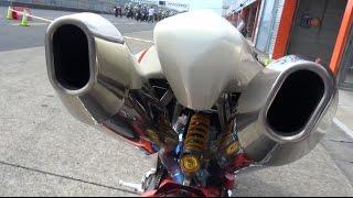 空冷SS最強バイク bimota DB5CR 1080 Details and ran. MOTO CORSEモトコルセ MOTEGI