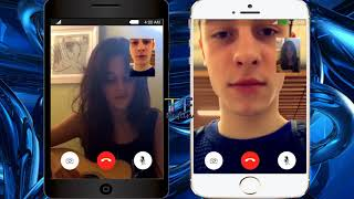 Camila Cabello and Shawn Mendes Singing Via FaceTime   Funny Video Call   Edited