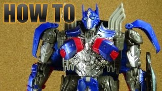 HOW TO: Transformers The Last Knight Optimus Prime