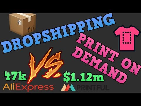 DROPSHIPPING VS PRINT ON DEMAND WHICH IS BETTER