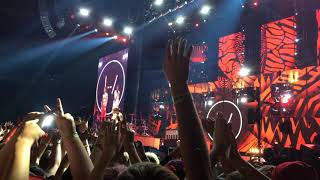'We are Twenty One Pilots and so are you' bit - Twenty One Pilots @ Rod Laver Arena 31.3.17