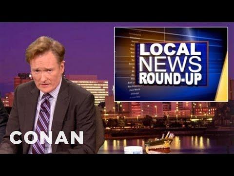 Local News Roundup 10/18/12 - CONAN on TBS