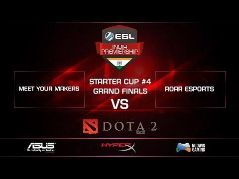 Meet Your Makers VS Roar eSports-GRAND FINALS -GAME 1 - Starter Cup 4