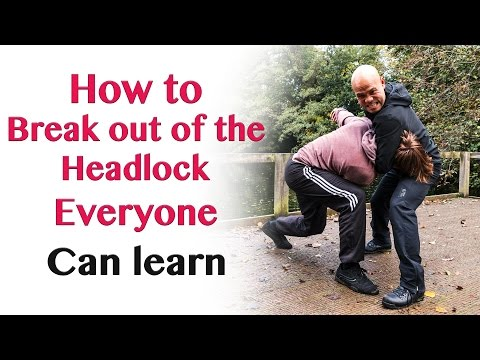 How to break out of the headlock everyone...