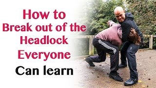 How to break out of the headlock everyone can learn | Wing Chun