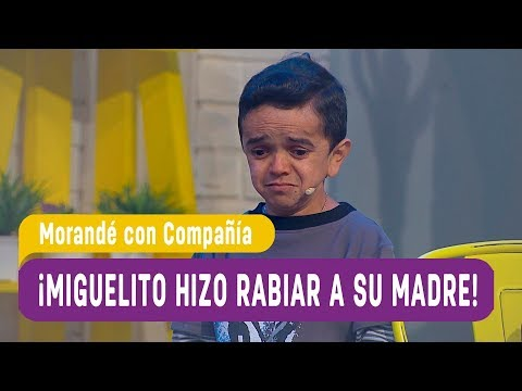 ¡Miguelito hizo rabiar a su madre por sus calificaciones! - Morandé con Compañía 2018