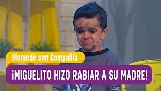 ¡Miguelito hizo rabiar a su madre por sus calificaciones! -...