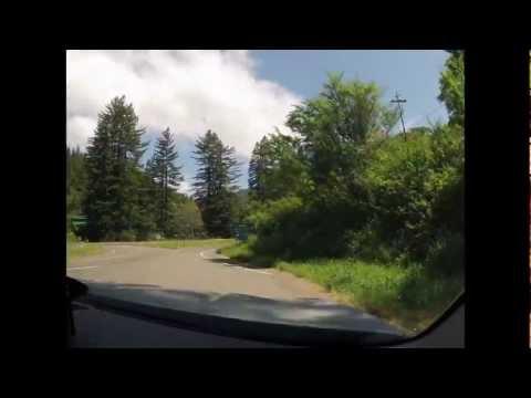 Western United States road trip timelapse