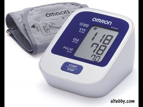 افضل جهاز قياس ضغط الدم الكتروني جهاز اومرون Omron الياباني Youtube