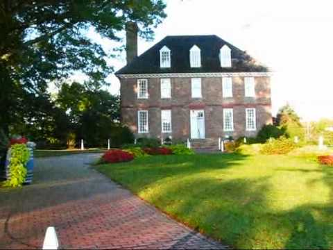 Historic Virginia: The gorgeous grounds of the Powhatan Planation in Williamsburg
