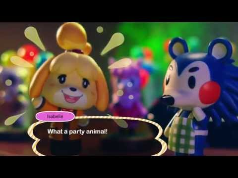 Animal Crossing: amiibo Festival overview video