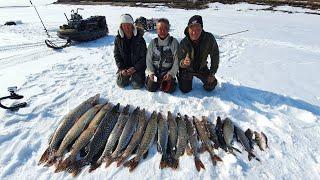 Закрыл сезон подледной рыбалки в Якутии