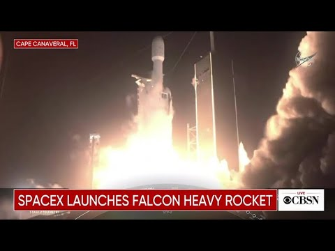 Eric Hunter - SpaceX Launches Into Space This Morning